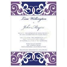 lavender wedding invitations kits