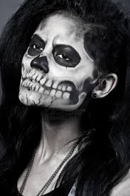 half skull makeup 2020 ideas pictures