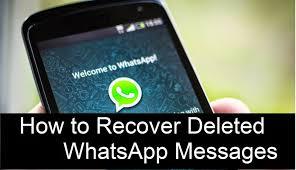 Recupera i messaggi WhatsApp cancellati da Samsung (aggiornamento ...
