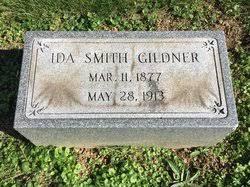 Ida Minerva Smith Gildner (1877-1913) - Find A Grave Memorial