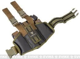 drop leg thigh holster rig