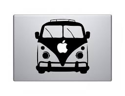 Be The Designer Of Your Own Device Vw Bus Vinyl Decal Sticker For 13 Inch Laptops Notebook Creative Decorative Laptop Skins Bus Volvo Stickers Golfsticker Wedding Aliexpress