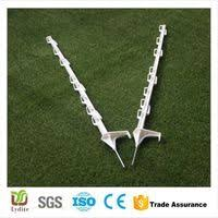 White Plastic Fence Post For Cattle Livestock Electric Fence Wire Fence Fence