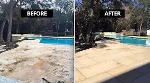 natural stone sealers patio pool