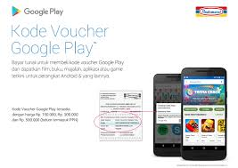 cara membeli kode voucher google play