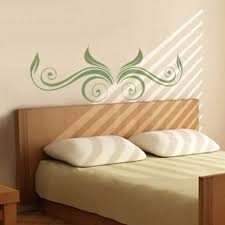 Headboard Wall Decals Bedrooms Wall Decals Decalmywall Com