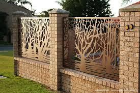 Decorative Fence Gate Panels Edgeworkshop Fence Design Modern Fence Gate Design