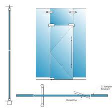 frameless glass doors herculite doors