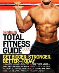men s health total fitness guide 2009