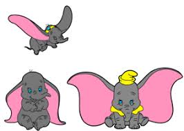 Dumbo Stickers In Full Colour 3 To Choose From Vinyl Decal Home Garden Wall Decals Stickers