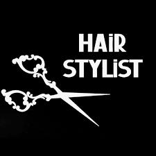 Yjzt 13 6cm 8 9cm Car Sticker Hair Stylist Scissors Barber Shop Beauty Vinyl Decoration Decal C22 0100 Shop The Nation