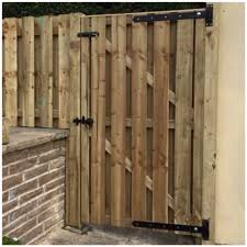 High Quality Hit And Miss Wooden Gates S T Fencing Timber Products