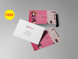 free business card template by sa