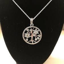 pandora family tree pendant necklace