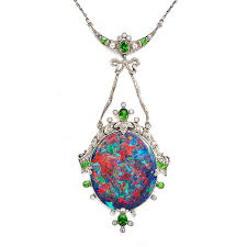 superstitious history of opal jewellery