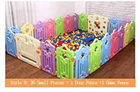 Cartoon Children Kids Plastic Play Fence Baby Safety Fence Pool Baby Playpens Play Yards Ayianapatriathlon Com