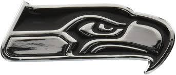 Amazon Com Nfl Atlanta Falcons Premium Metal Auto Emblem Sports Related Tailgating Fan Packs Sports Outdoors