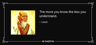 What is the full phrase in relation to, 'the more you know'? - Quora