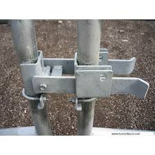 Fulcrum Style Chain Link Fence Double Gate Latch Fits 1 5 8 2 Industrial Chain Link Gate Frames Em 2020 Trancas Portas
