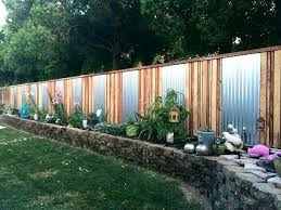 Wood Fence Ideas For Backyard Landonhomedesign Co