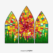 glass painting elements of gothic
