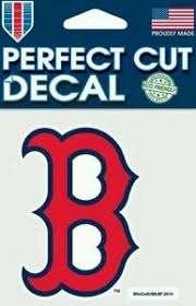 Boston Red Sox B Logo 4x4 Perfect Cut Car Decal See Description Ebay