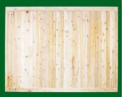 Eastern White Cedar Fence Tongue And Groove Wood Fence