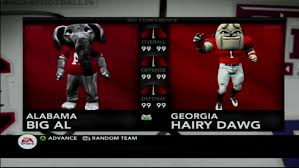 Georgia vs. Alabama prediction by 'NCAA ...