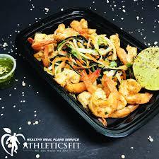 Fresh cabbage mix grilled Shrimp salad ...