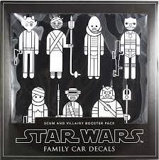 Star Wars Family Car Decal Set Of 22 Scum Villainy Booster Pack Sw Superstore