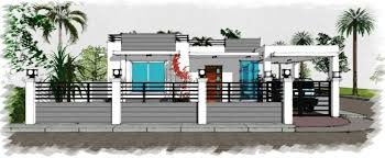 Corner Modern Bungalow House Designer Builder