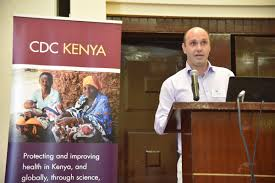 "CDC Kenya on Twitter: ""Dr. Aaron Samuels representing our work in Western  Kenya, which is largely focused on public health research in malaria,  tuberculosis & HIV… https://t.co/qrmhasvKpK"""