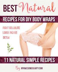 homemade body wraps diy to do at home