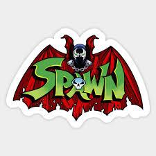 Spawn Crossover Symbol Spawn Sticker Teepublic