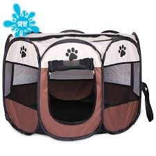 Portable Outdoor Kennels Fences Pet Tent Houses Small Large Dogs Foldable Play Indoor Puppy Cage Dog Crate Delivery Room Shopee Philippines