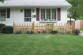 Reverse Runner Provincial Picket Fence By Elyria Fence Company