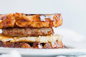keto chaffle breakfast sandwich recipe