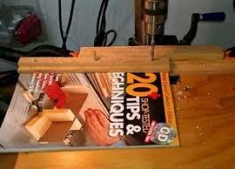 homemade binder drilling jig