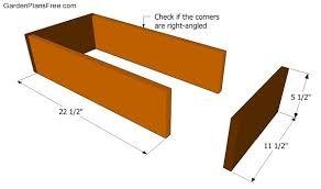 wood tool box plans free garden plans