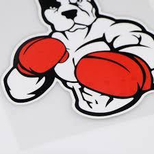 Yoja 12 2x13 1cm Pitbull Dog Boxer Fashion Decoration Car Sticker Cartoon Vinyl Decal Zt4 1012 Car Stickers Aliexpress