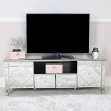 arabian silver mirrored widescreen tv