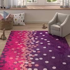 clive harriet bee purple pink area rug