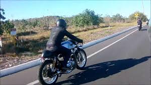 winter ride with perth cafe racers