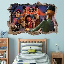 Coco Disney Movie 3d Window Decal Wall Sticker Home Decor Art Mural Kids J933