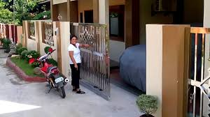 Duragates Sliding Gate System In The Philippines Youtube