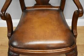 antique queen anne style mahogany
