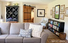 Family Room Decorating Ideas Sliding Barn Door Hardware Kids Art Display Gallery And Sectional For Man Decorating Including Wine Cabinet