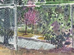 Chain Link Fence Paintings Fine Art America