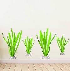 Zoomie Kids Aquatic Plants Wall Decal Wayfair