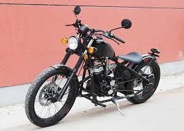 smart shape bobber style motorcycle